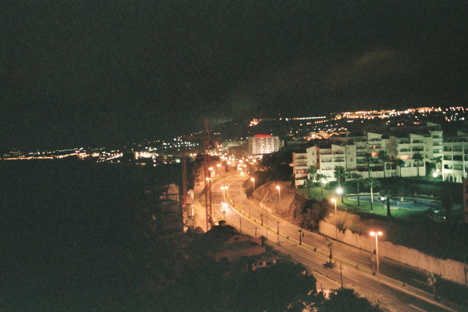 Foto playa Torrequebrada. Spain_Andalusia_Benalmadena by night_22_19A.JPG