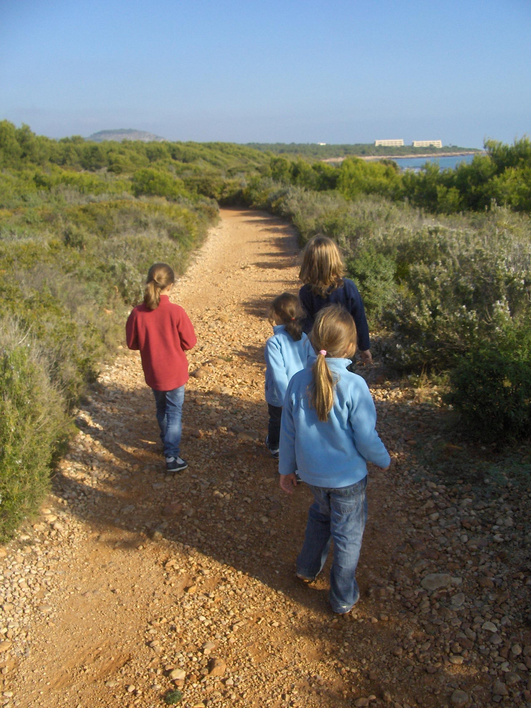 Foto playa Portonegro. Camino de Peñiscola