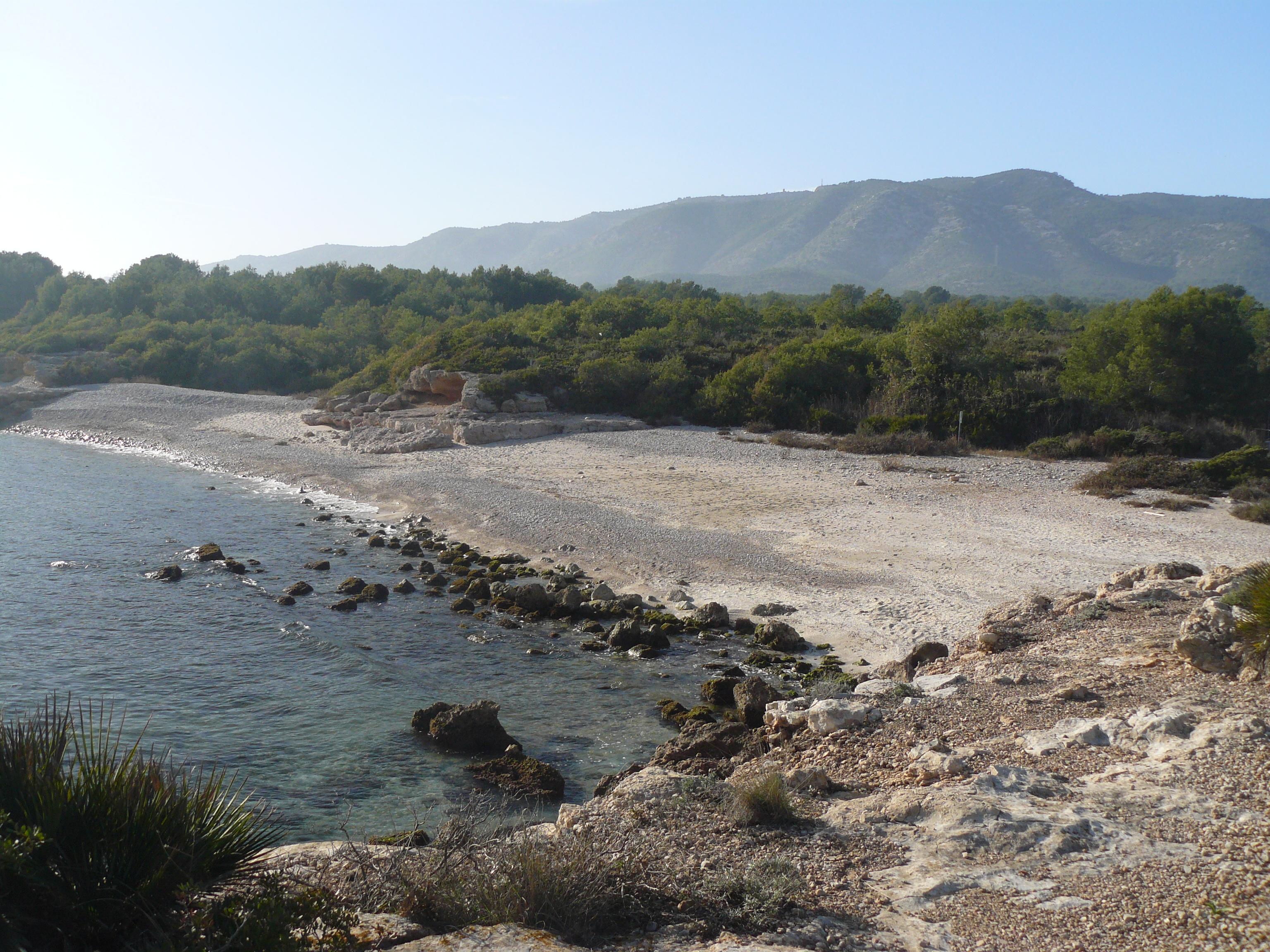 Foto playa Cala Argilaga. Cala Serra d´Irta