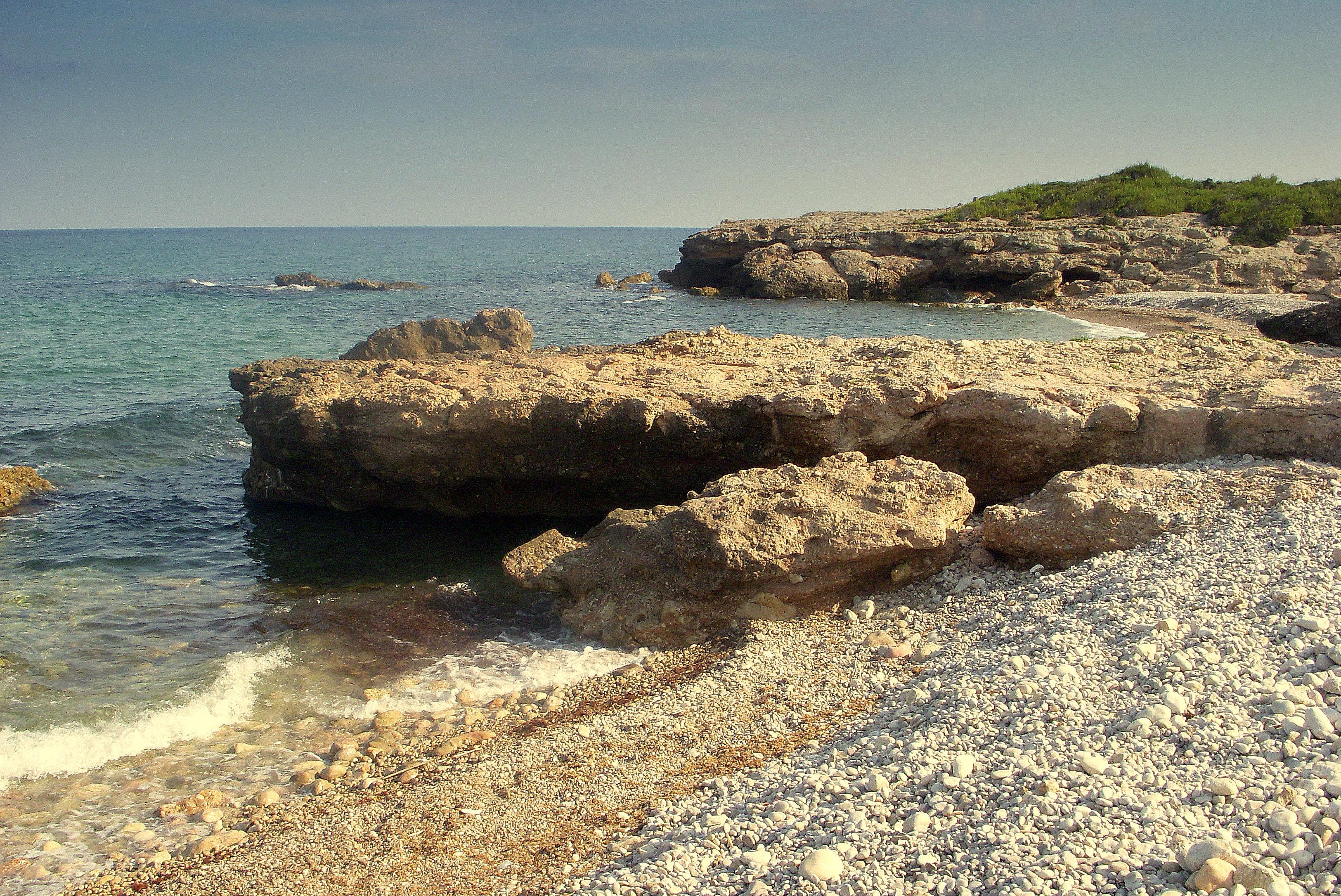 Foto playa Cala Argilaga.