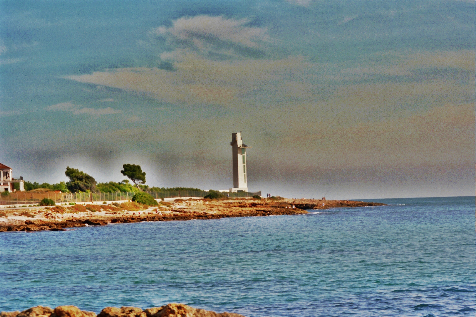 Foto playa Las Fuentes. Faro