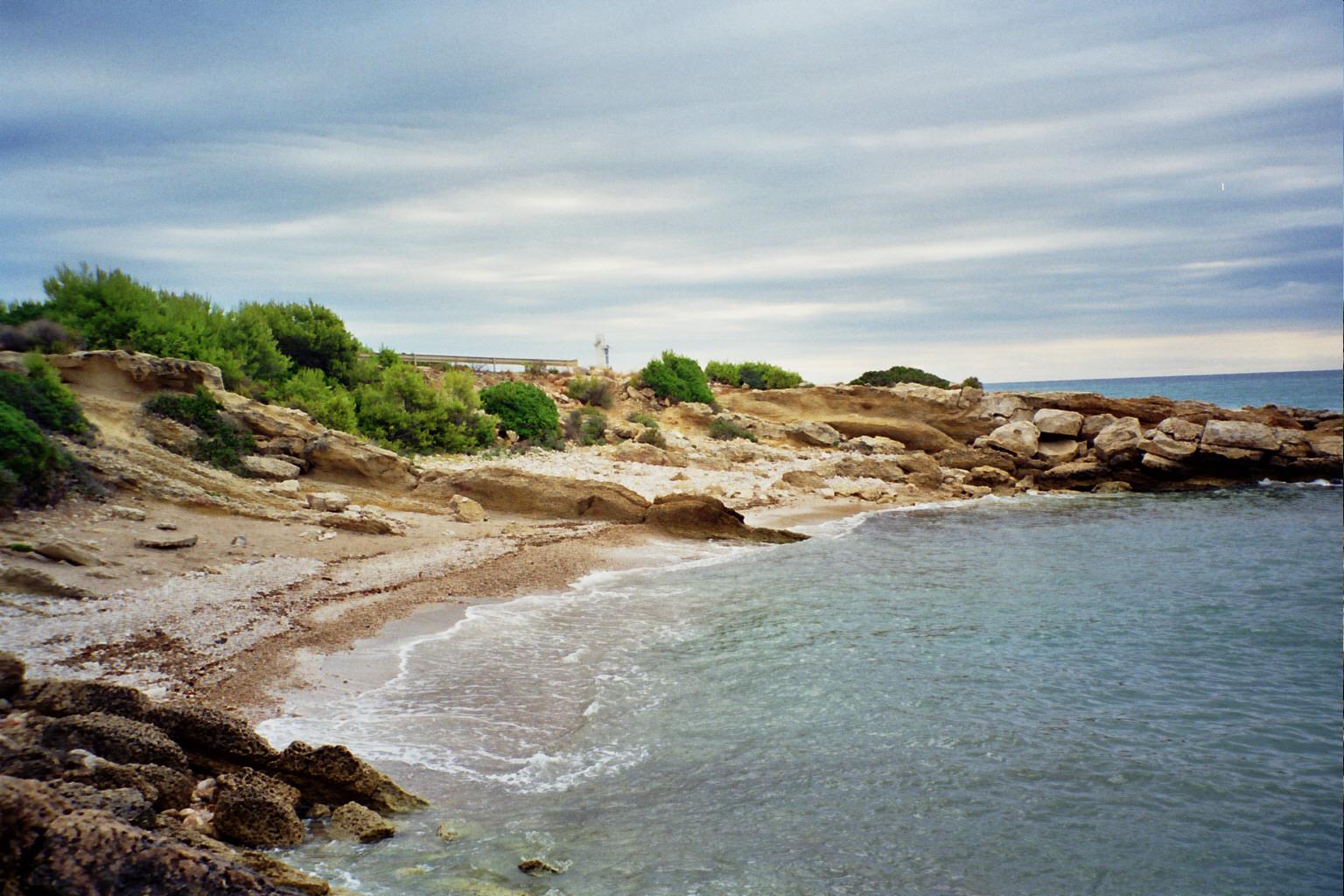 Foto playa Las Fuentes. Cala Blanca