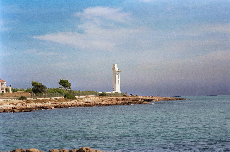 Foto playa Las Fuentes. Faro Alcossebre