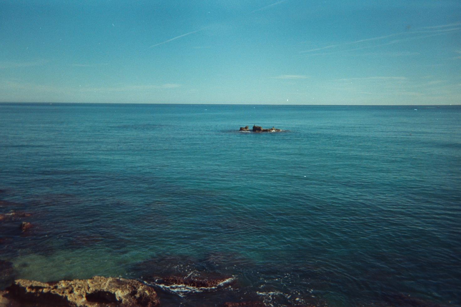Foto playa La Romana. Islote del Moro, Alcossebre, E-048
