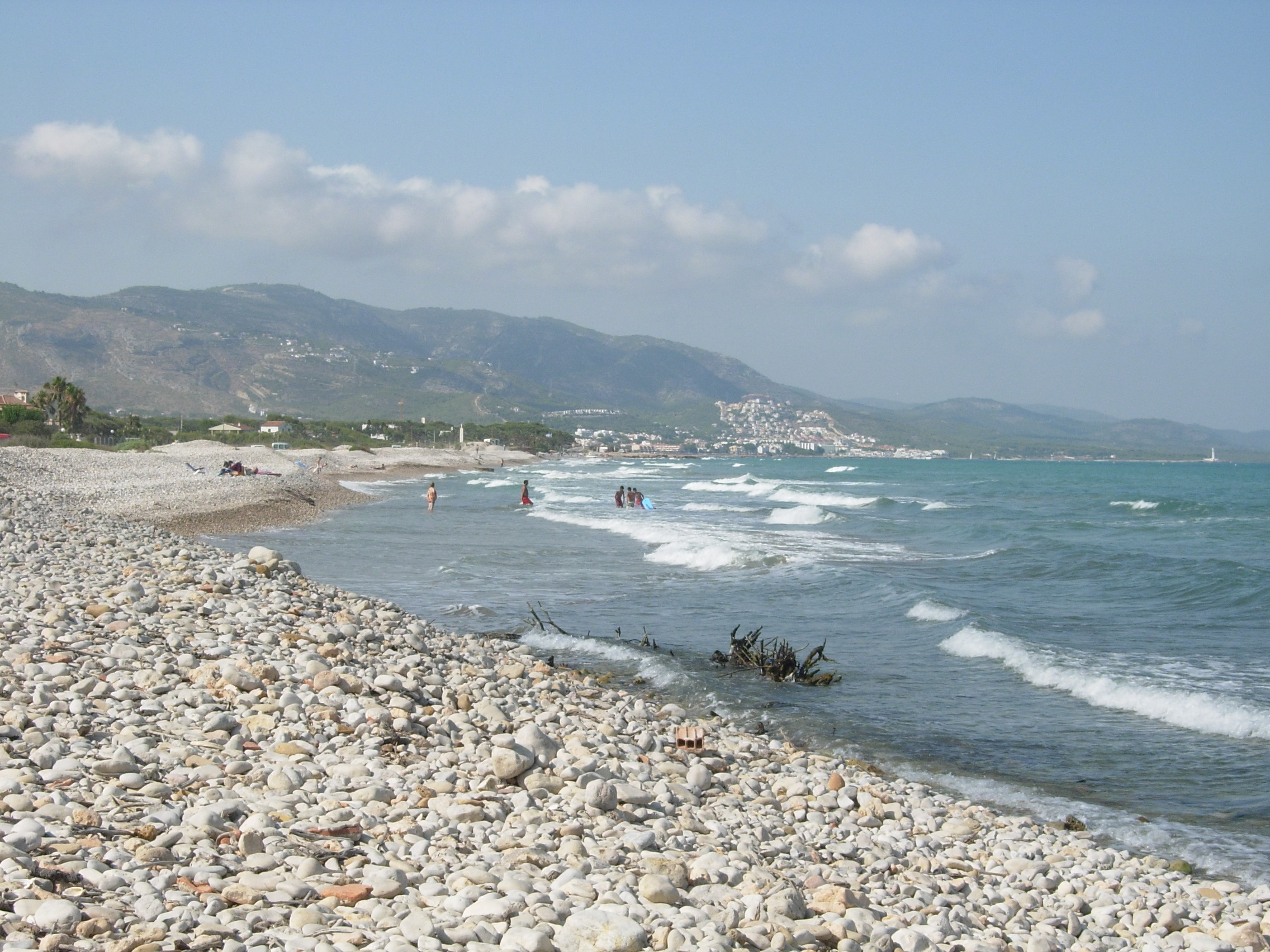 Foto playa Serradal. Playa del Serradal - Alcossebre