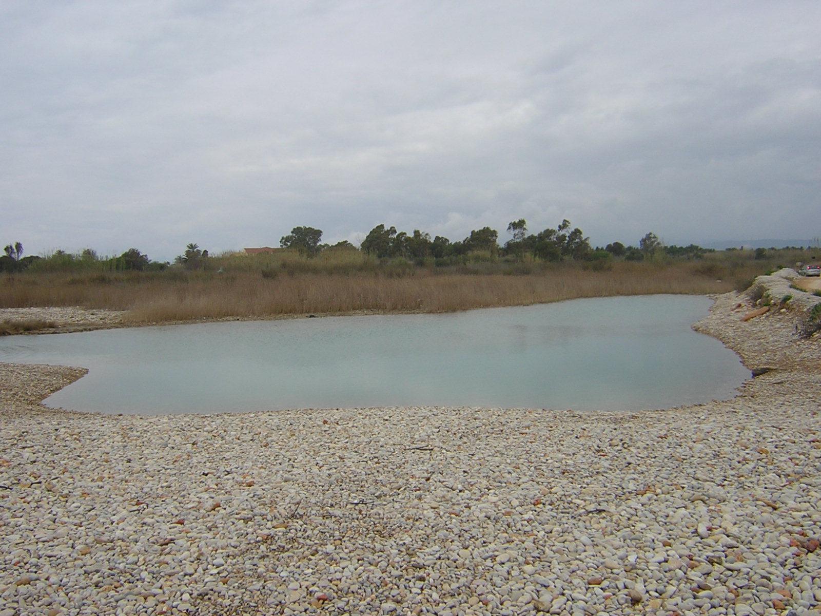 Foto playa Serradal. Alcocebre-barranco