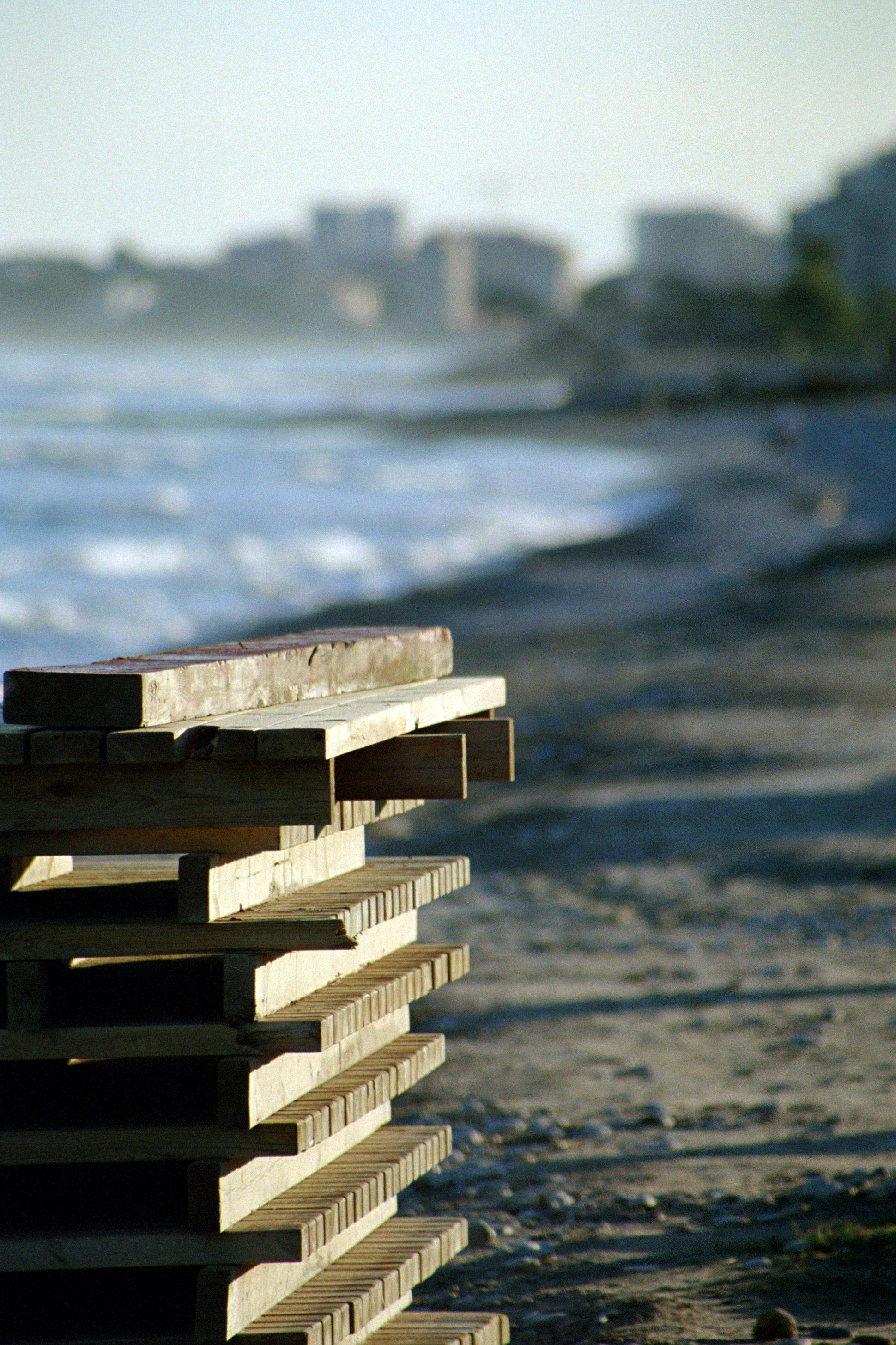 Foto playa Torre de la Sal. Limite de construcción