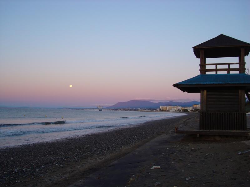 Foto playa Cortijo Blanco.