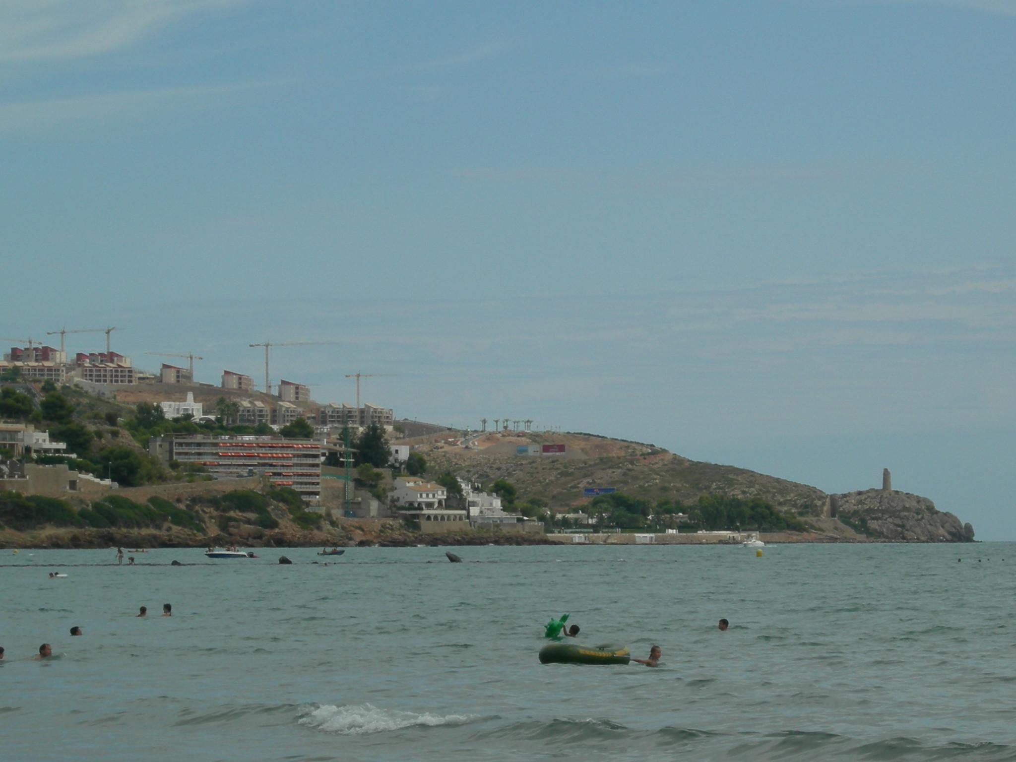 Foto playa Cala del Retor. Benicasim
