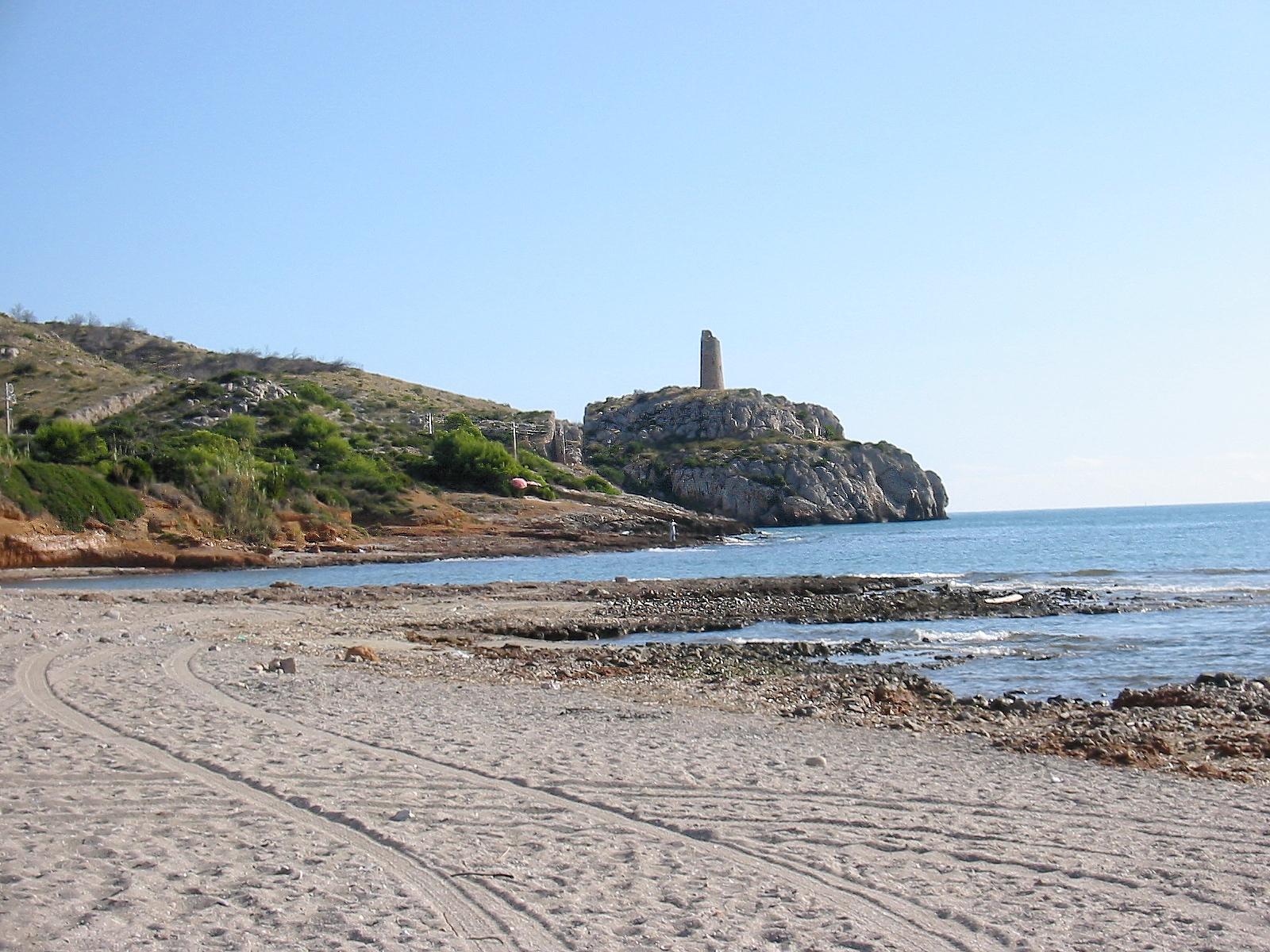 Foto playa Cala del Retor. Torre Colomera