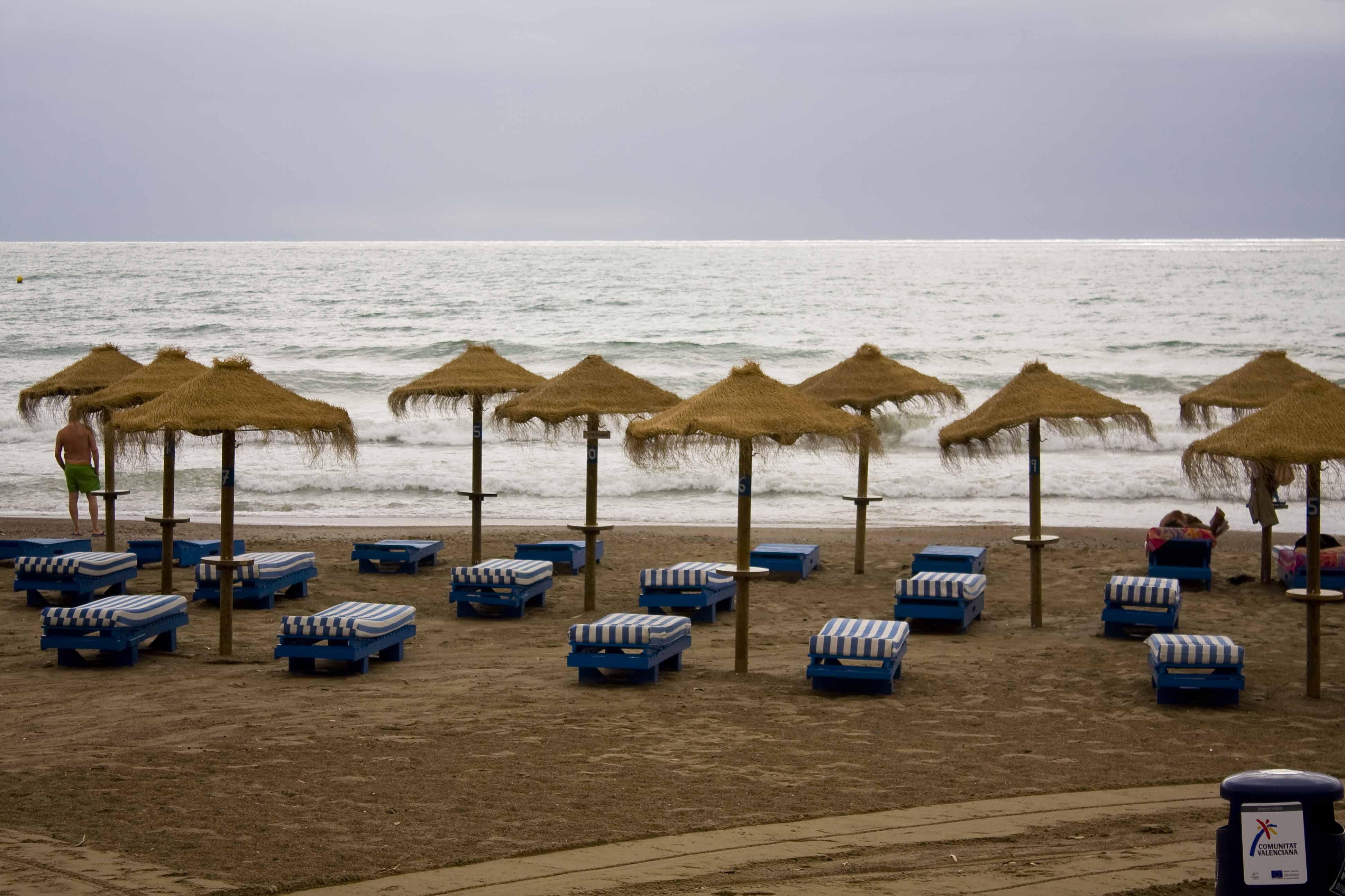 Foto playa L'Almadrava / Almadraba. BENICASIM ATARDECE