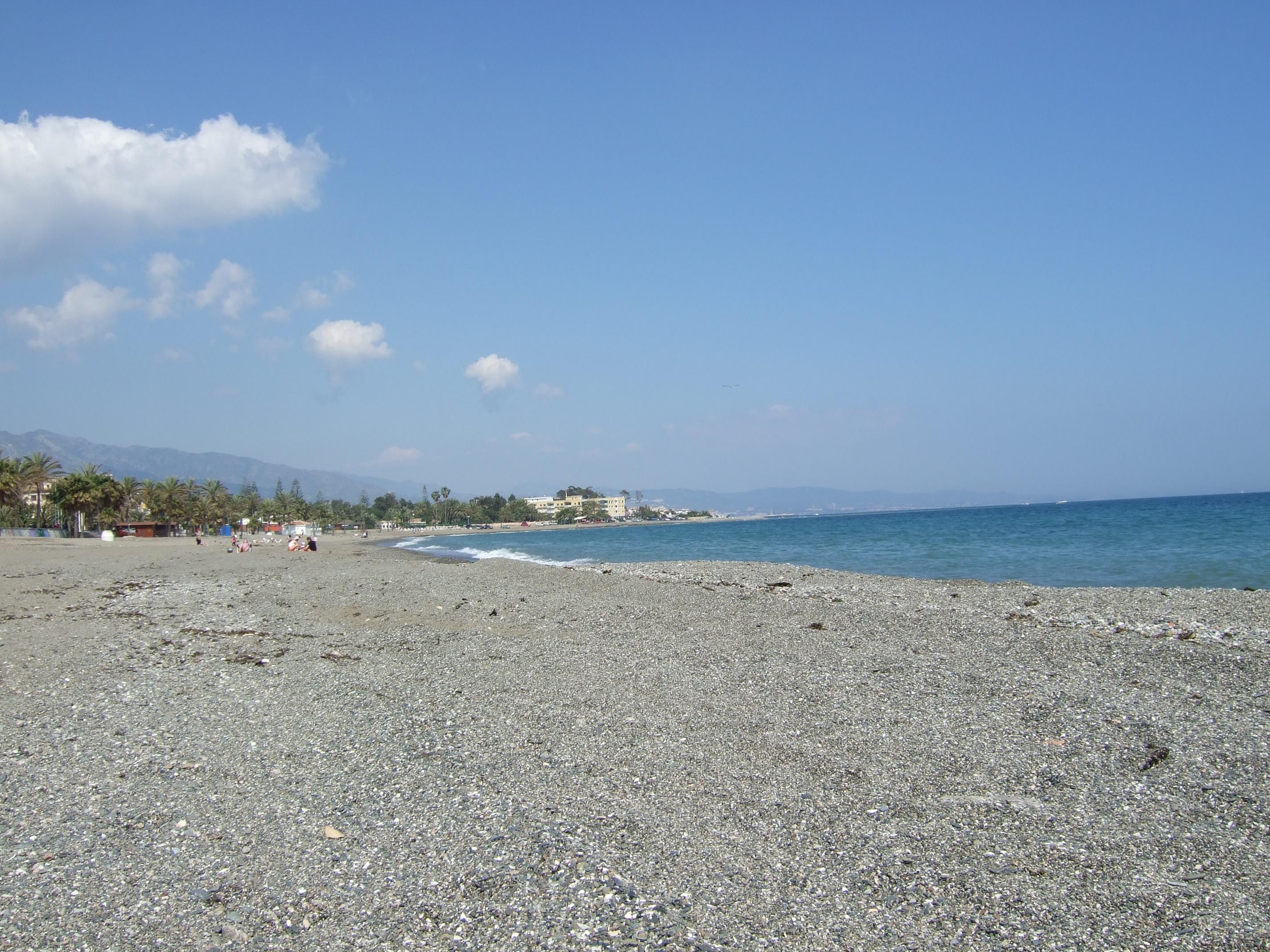 Foto playa San Pedro de Alcántara. Playa Marbella - San Pedro de Alcántara