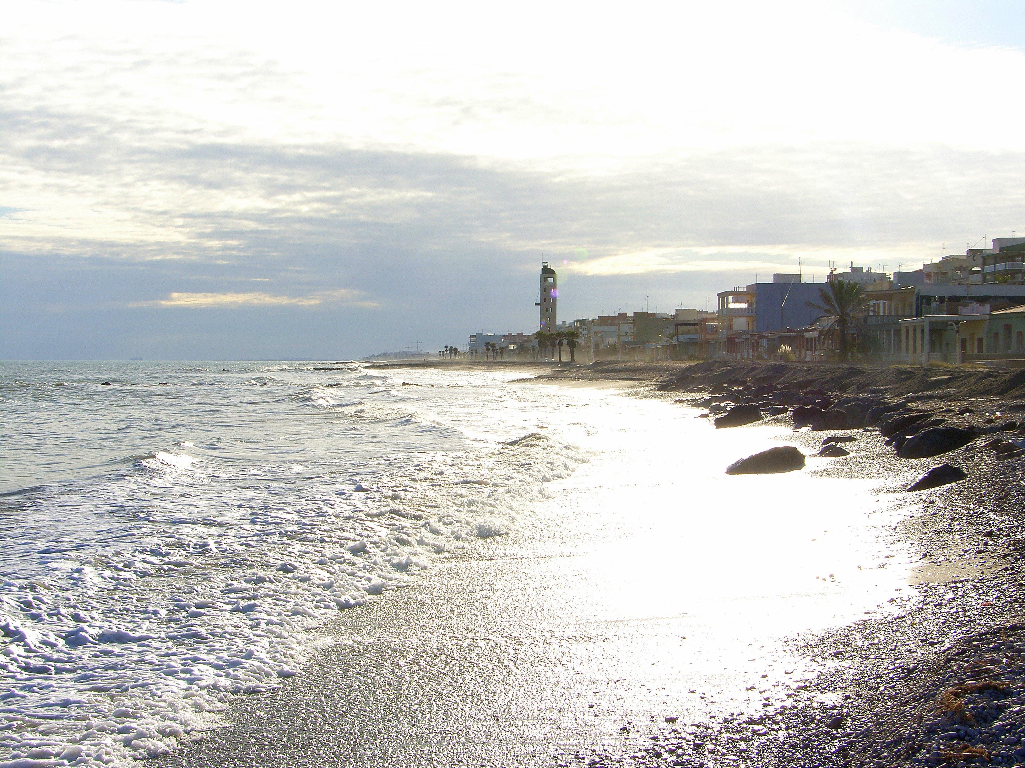 Foto playa L'Alcudia. Playa Castellon