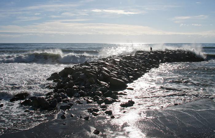 Foto playa Linda Vista. Nueva Andalucia storm