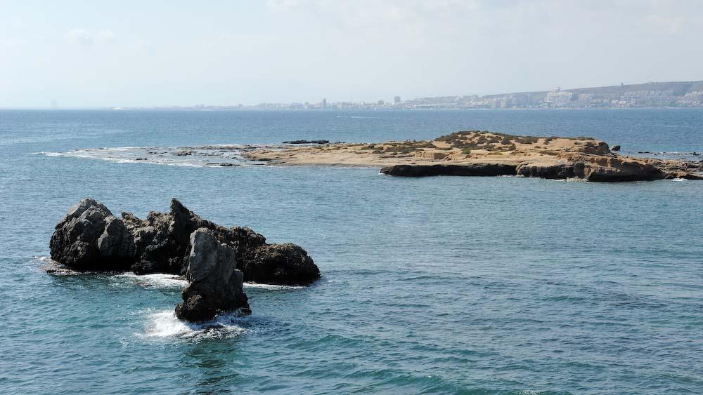 Foto playa Puerto Viejo (Isla de Tabarca). Isla Tabarca, Rocas © (Foto_Seb)