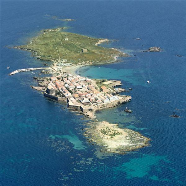 Foto playa Puerto Viejo (Isla de Tabarca). Aerea, Isla Tabarca © (www.fotoseb.es)