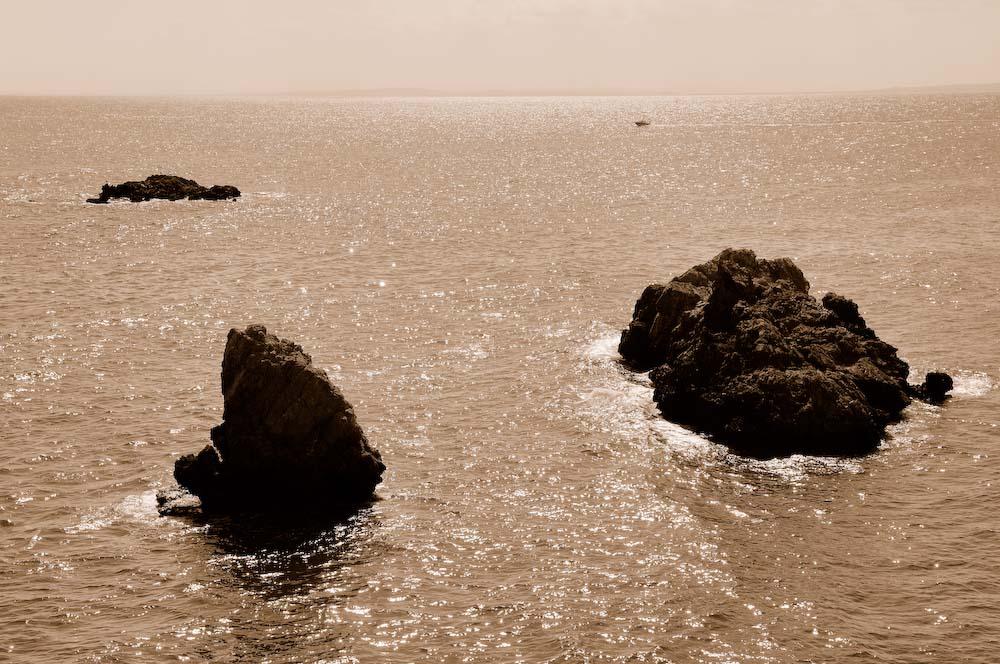 Foto playa Puerto Viejo (Isla de Tabarca). Isla Tabarca, Sepia © (Foto_Seb)
