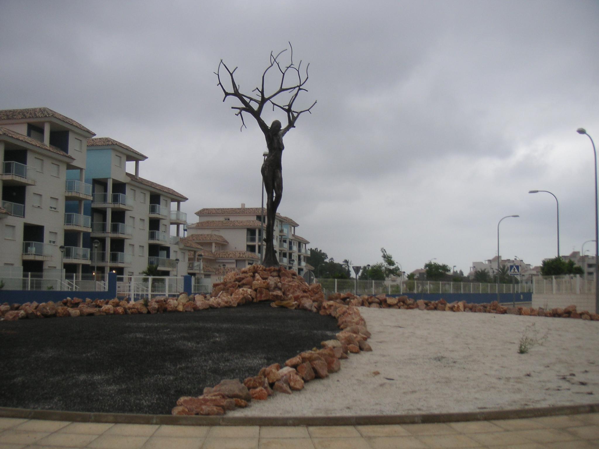 Foto playa La Almadraba. Kreisel 2007-08
