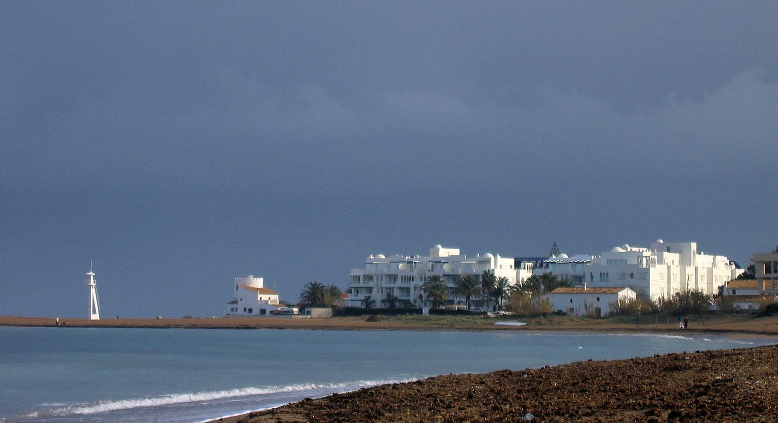Foto playa Les Deveses. Playa Les Marines in winter, Denia, Spain