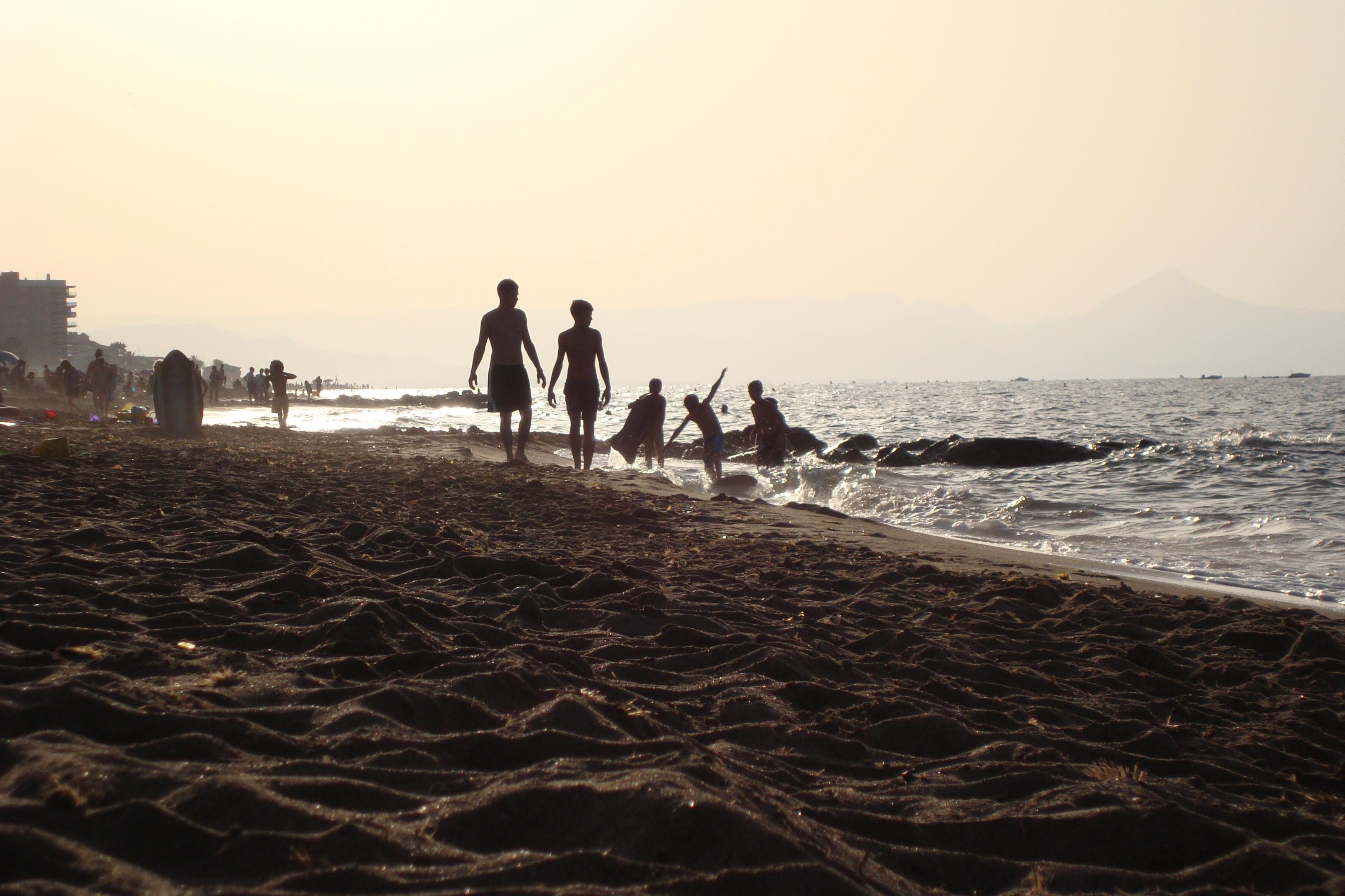 Playa Molinos y Palmeras / Punta dels molins