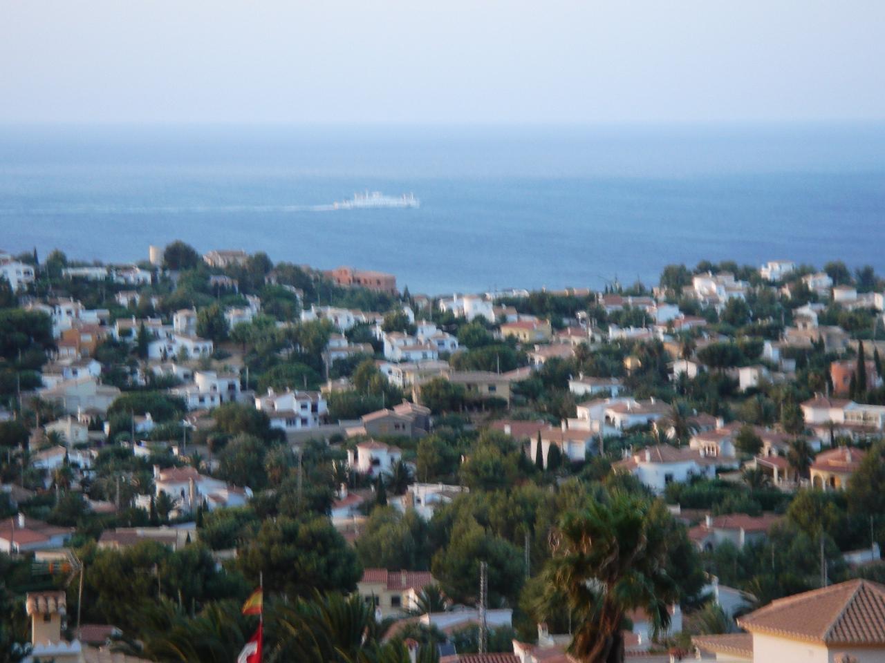 Foto playa Sorts de Mar / Costa la calma. Las Rotas desde el Montgo