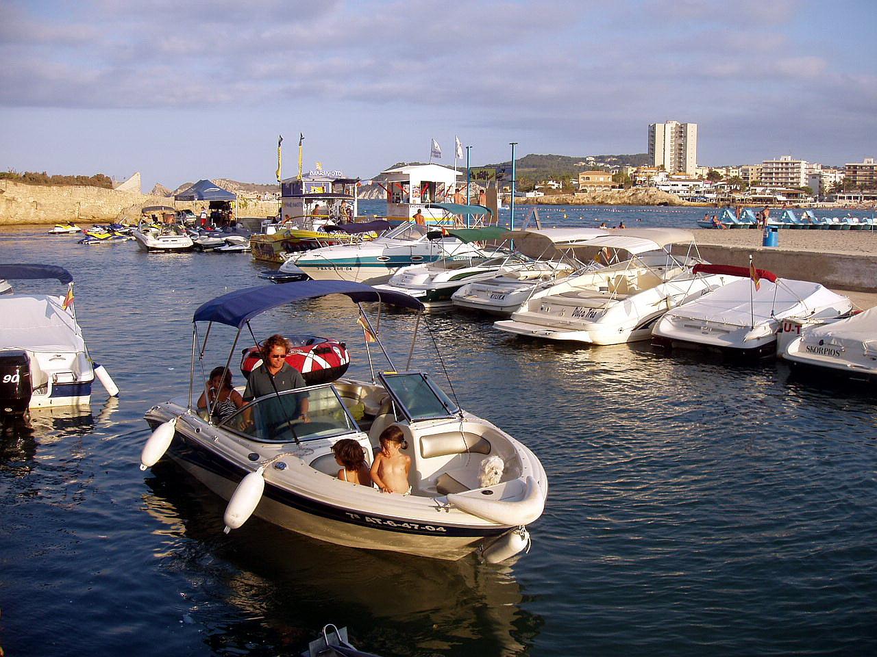 Foto playa La Grava. Javea, Alicante, España