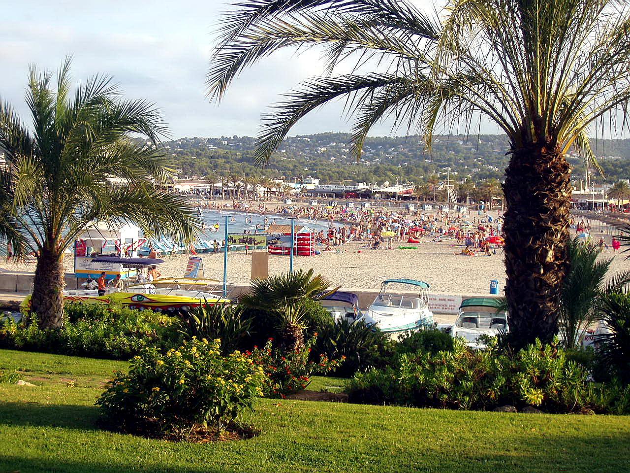 Foto playa El Arenal. Javea, Alicante, España
