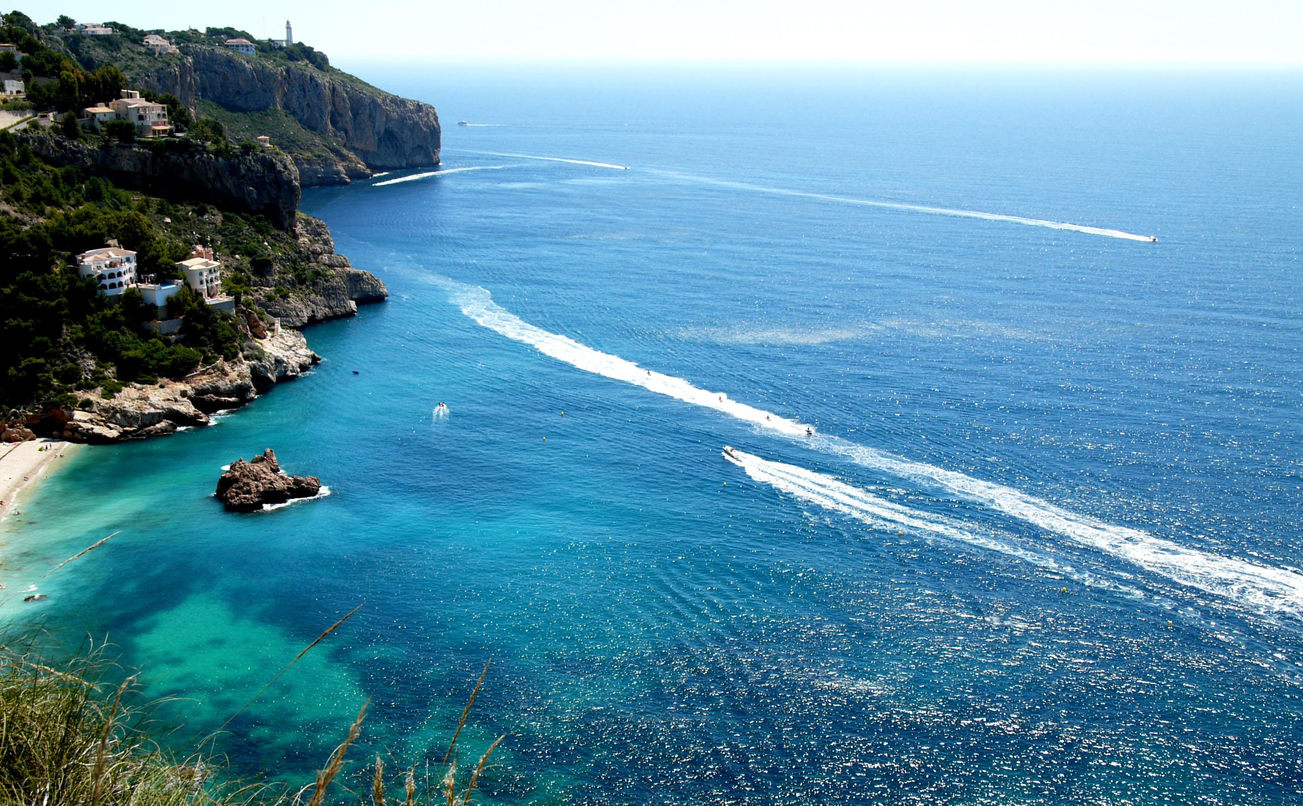 Foto playa El Ambolo. Spanien,Javea-Ambolostrand