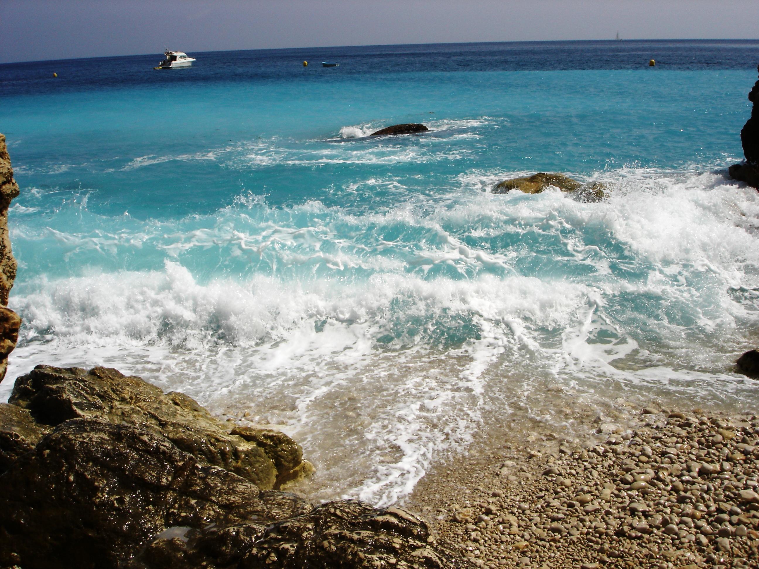 Foto playa El Ambolo. Brandung