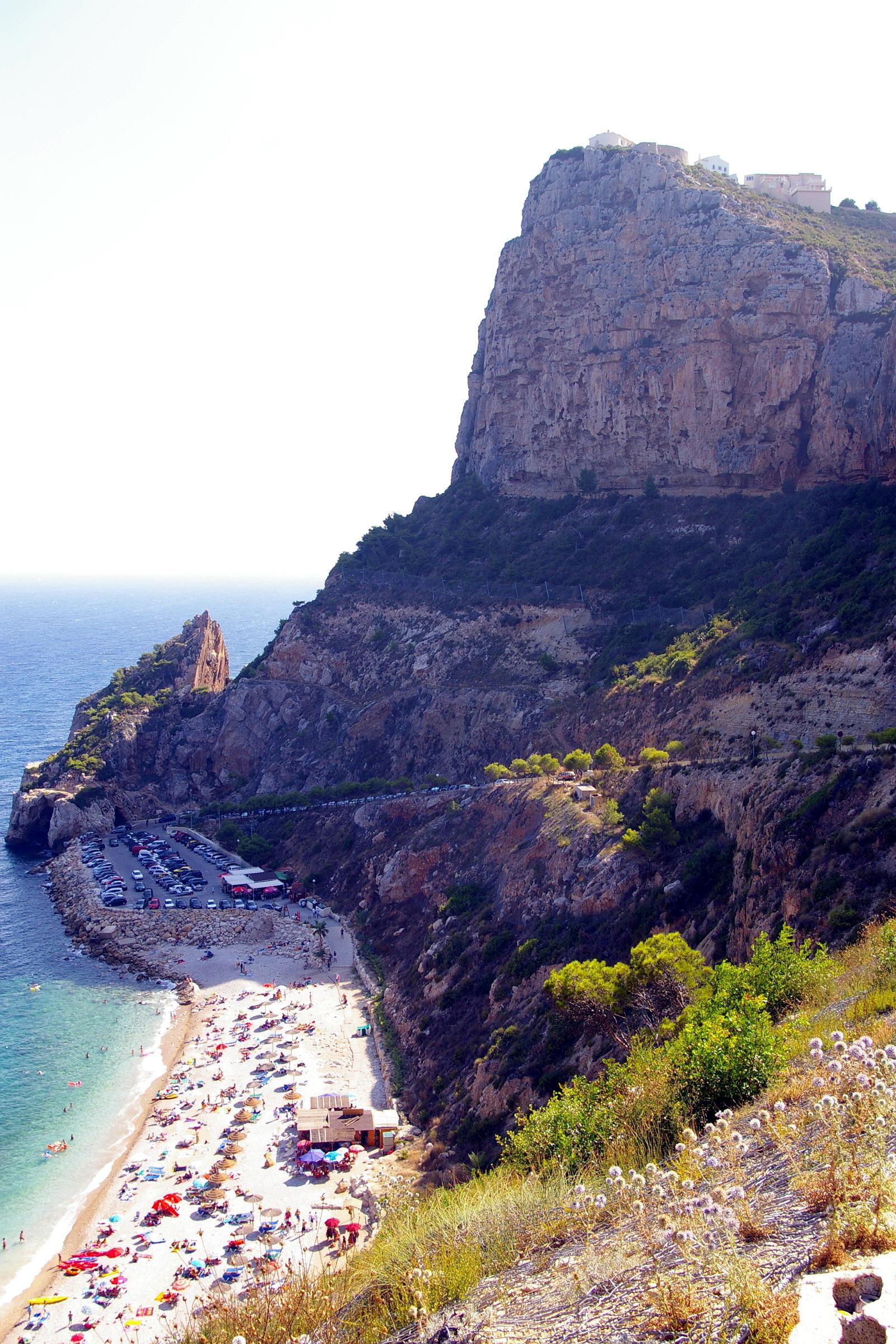 Foto playa Llebeig. Cala del Moraig, Benitatxell, Alicante, Cmdad.Valenciana