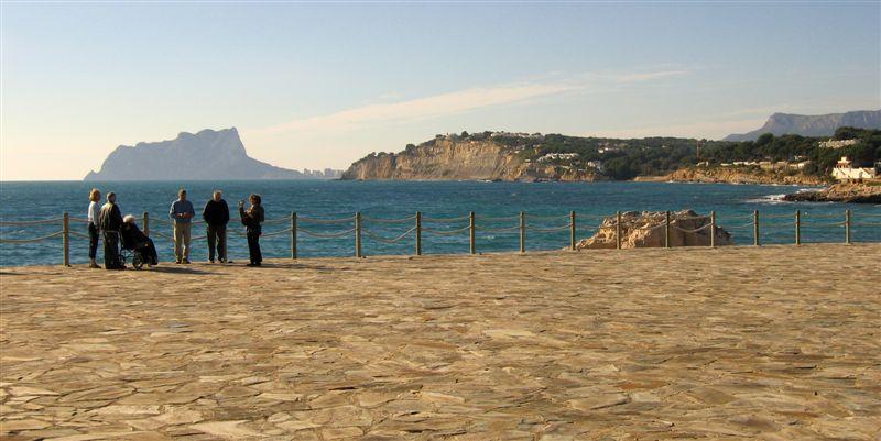 Foto playa El Baladrar. Costa Moraira © (Foto_Seb)