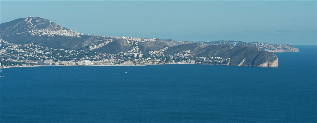 Foto playa Cala L'Advocat. Calpe (Foto_Seb) 6766Pano