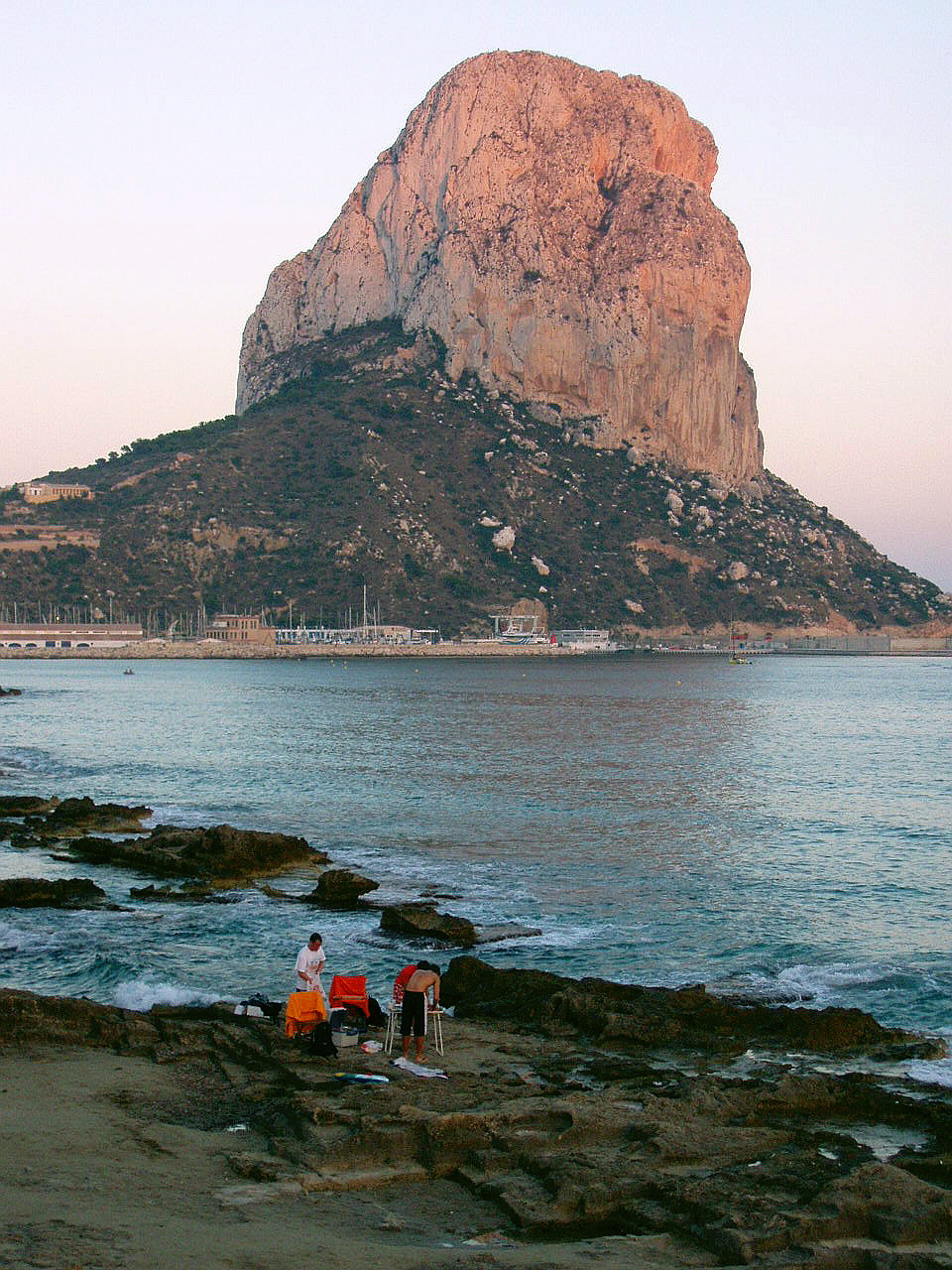 Foto playa Cantal Roig. Peñon de Ifach, Calpe, Alicante, España