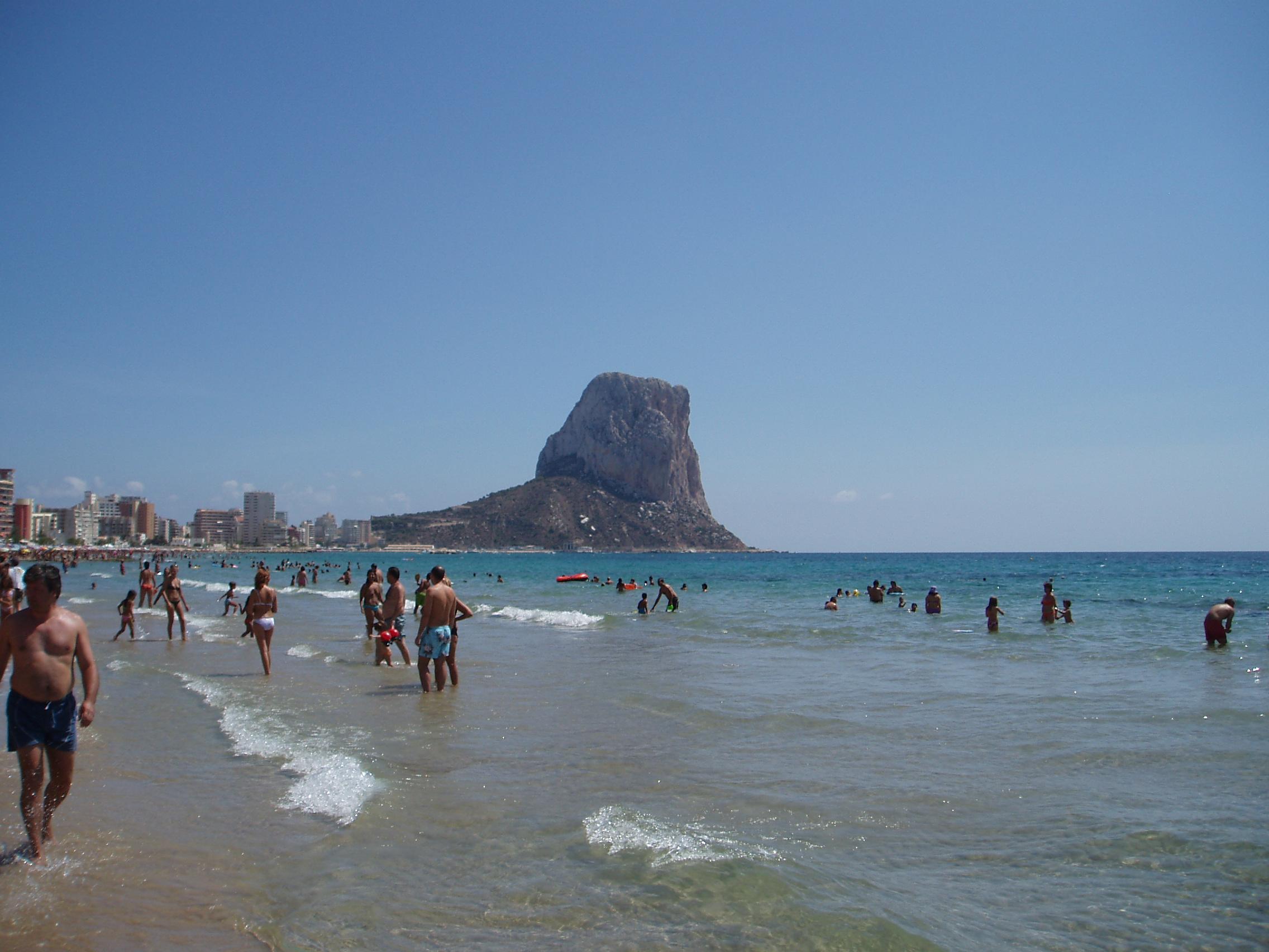 Foto playa Puerto Blanco.