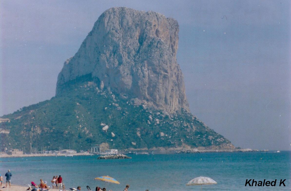 Foto playa Cala Gasparet. Calpe Alicante Spain