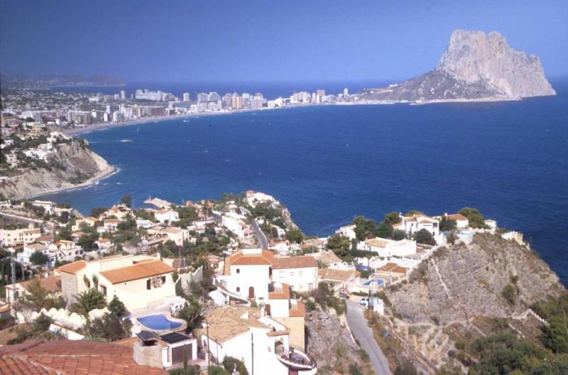 Foto playa Cala Gasparet. 025-calpe alicante Severino Rigano