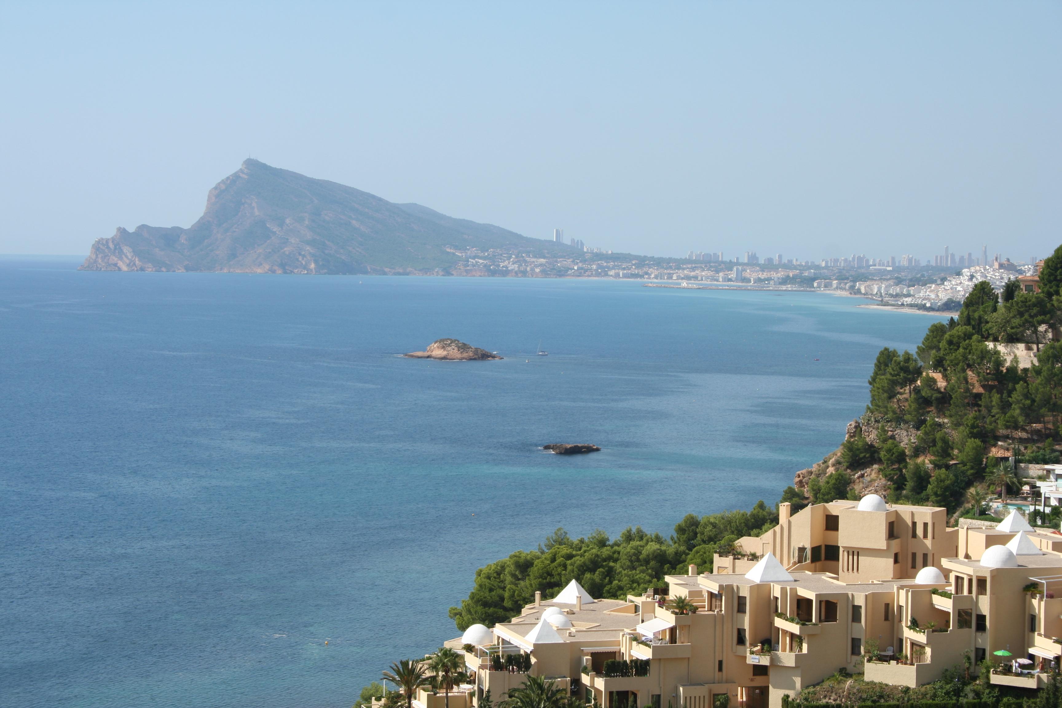 Foto playa Mascarat Sur / Playa de la Barreta. isleta de la OLLA DE ALTEA
