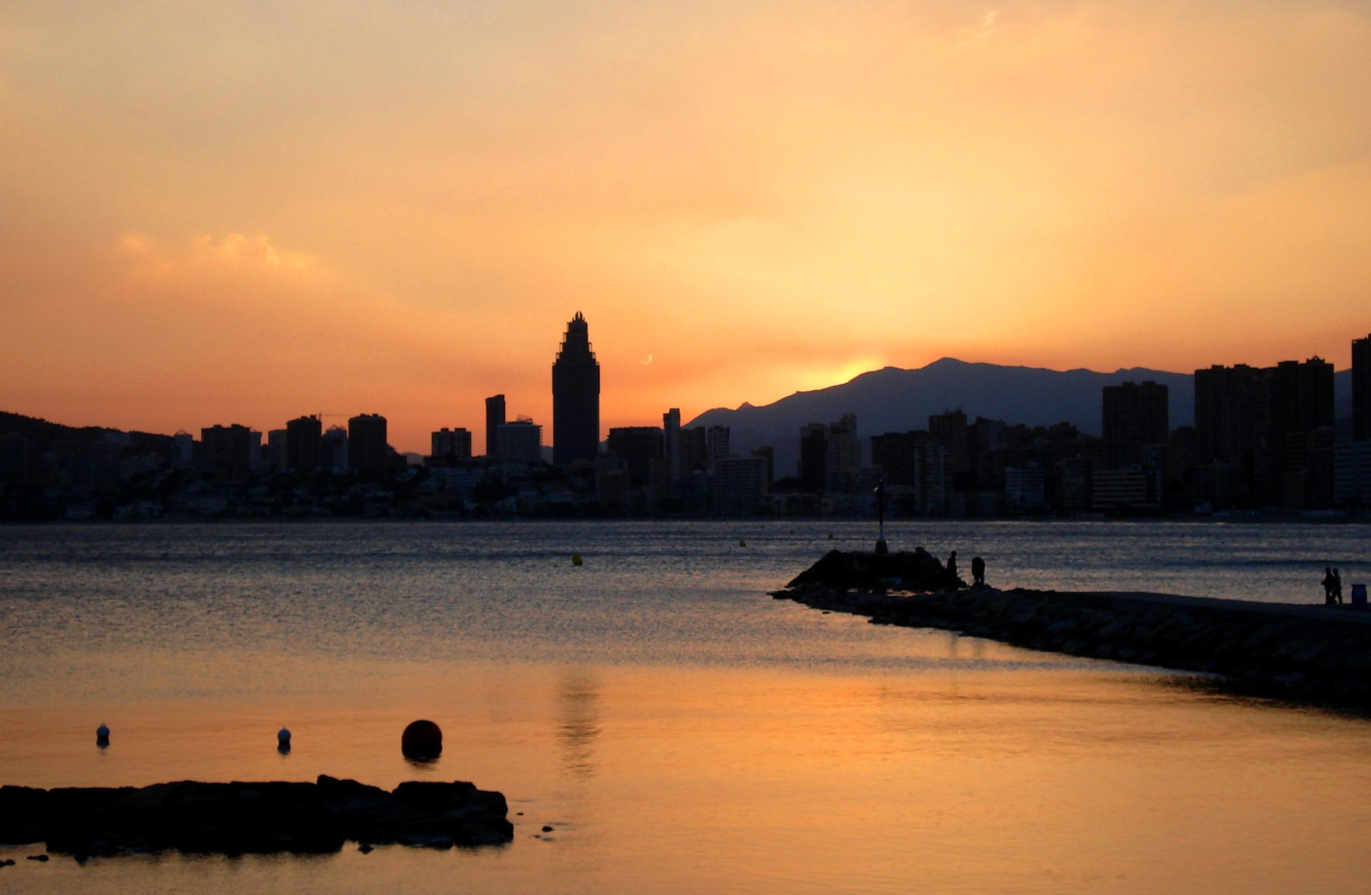 Foto playa Cala del Mal Pas. ** Al Rojo Vivo ** (Dedicada a
