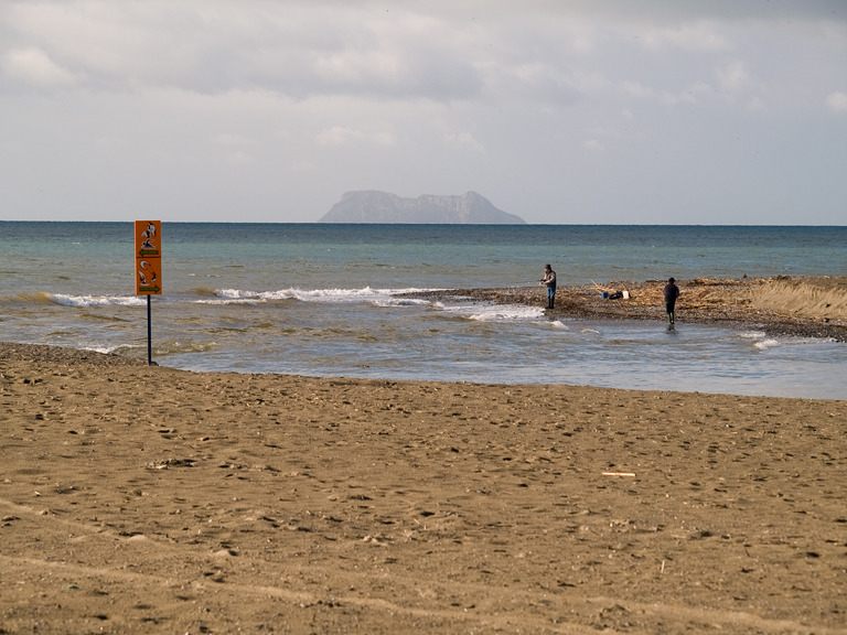 Foto playa Guadalmansa / El Pirata. Embouchure du Guadalmansa