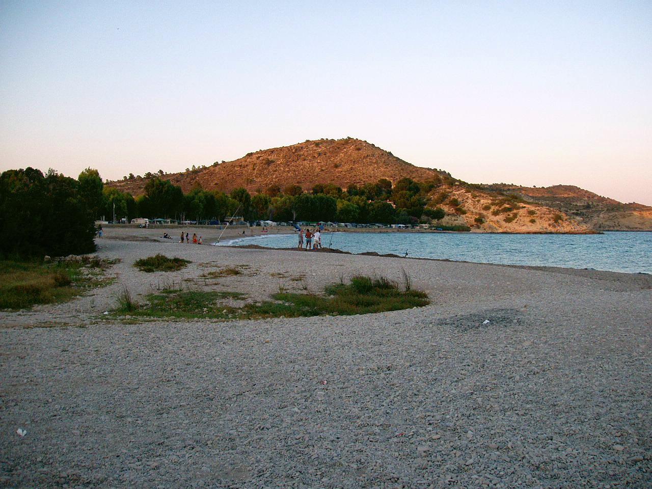 Foto playa El Torres / Playa del Rio Torres. Villajoyosa, Alicante, España