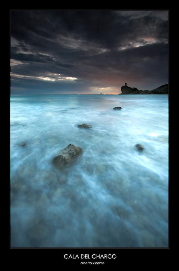 Foto playa El Charco. cala del charco