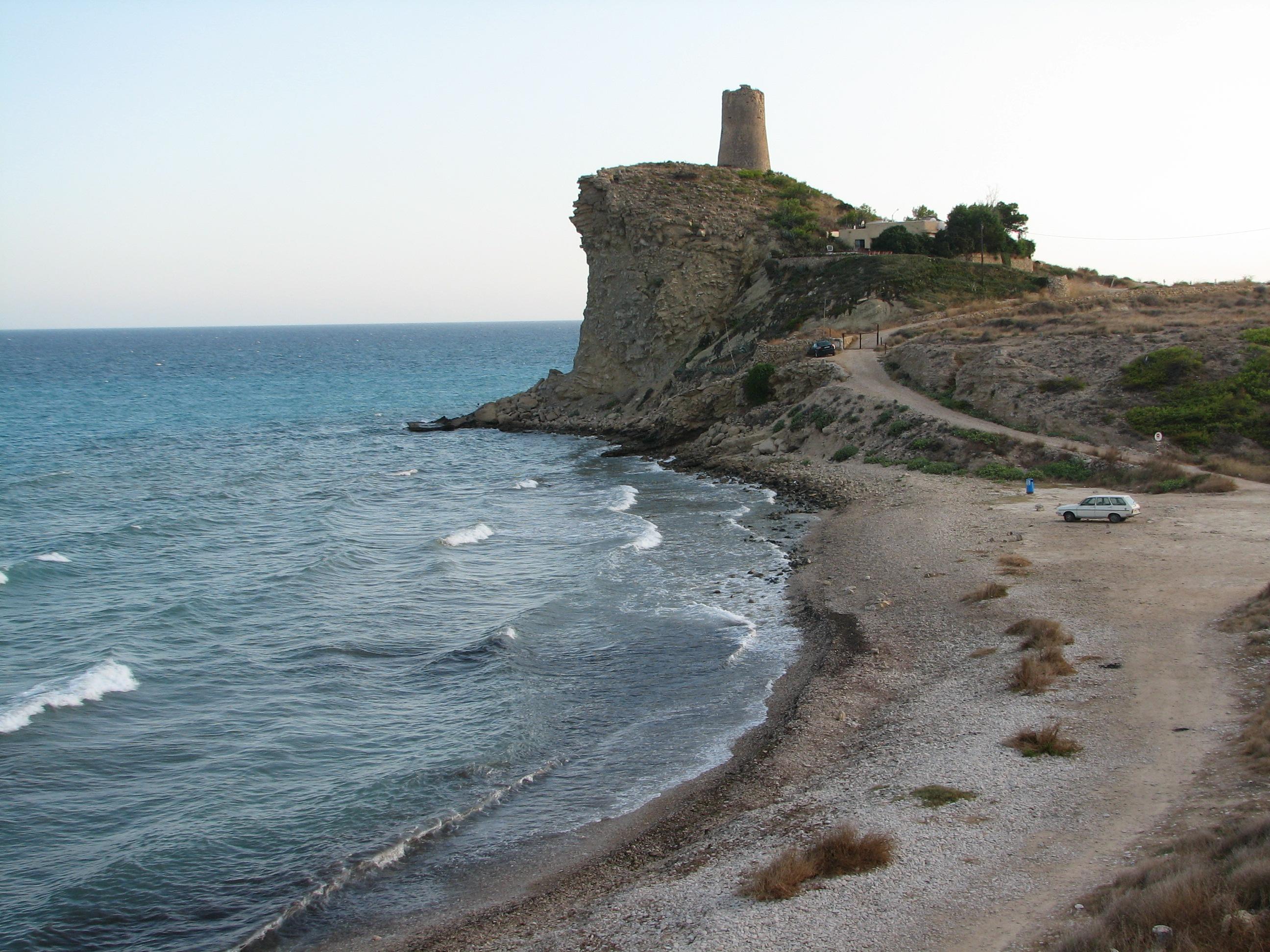 Foto playa Carritxar. Torretta