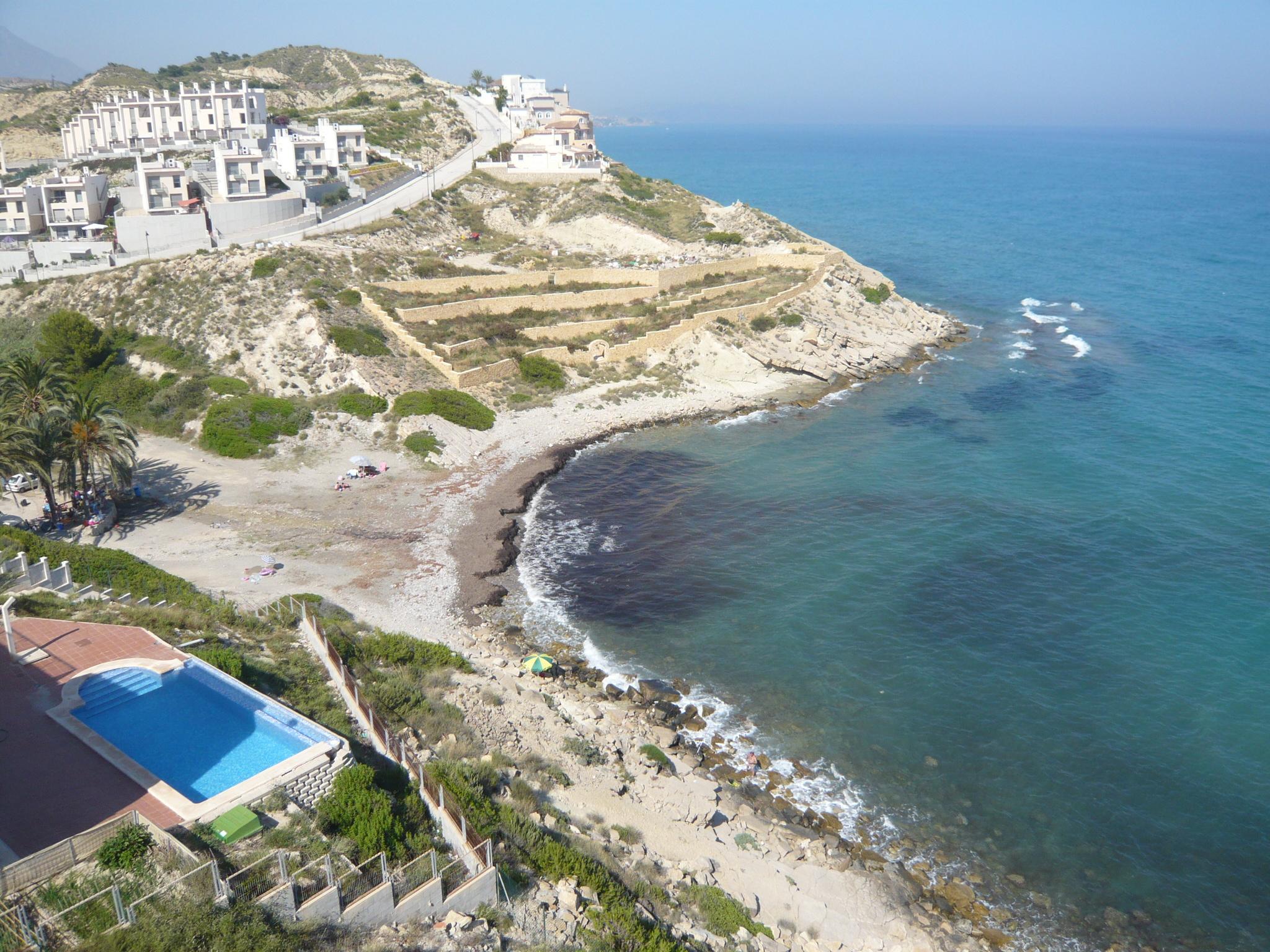Foto playa La Almadraba. Cala del Carritxal