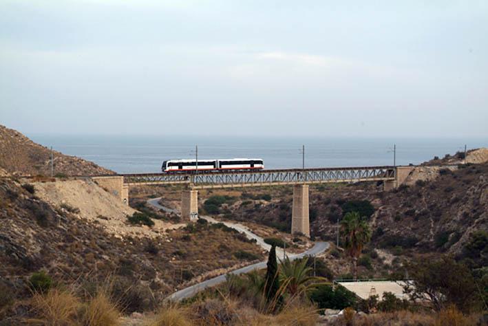 Foto playa Cala Piteras. Puente Cala Piteres
