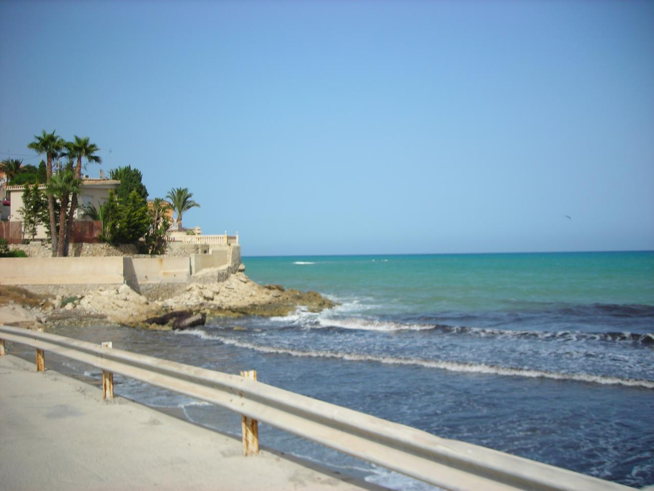 Foto playa Cala del Barranco de Aguas. Coveta Fumá