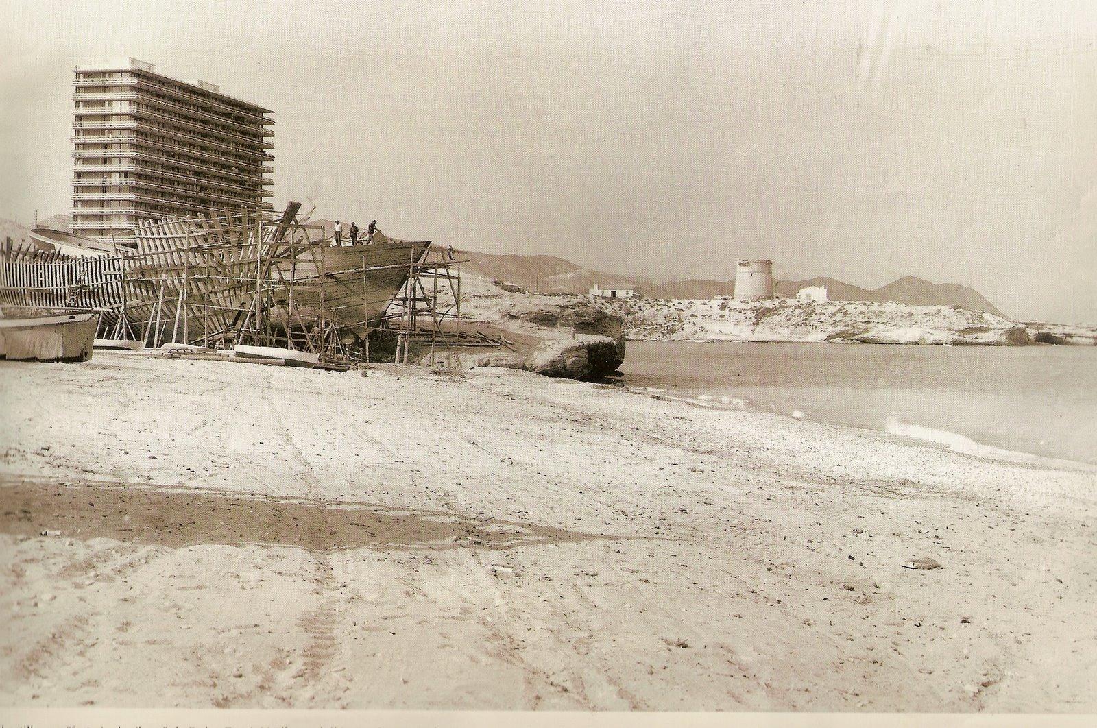 Foto playa El Amerador. Campello