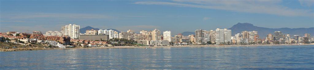 Foto playa Cala de la Palmera. Vista Costa desde Mar 4 © (Foto_Seb)