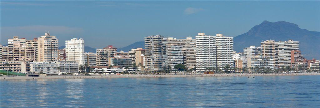 Foto playa Cala de la Palmera. Vista Costa desde Mar 5 © (Foto_Seb)