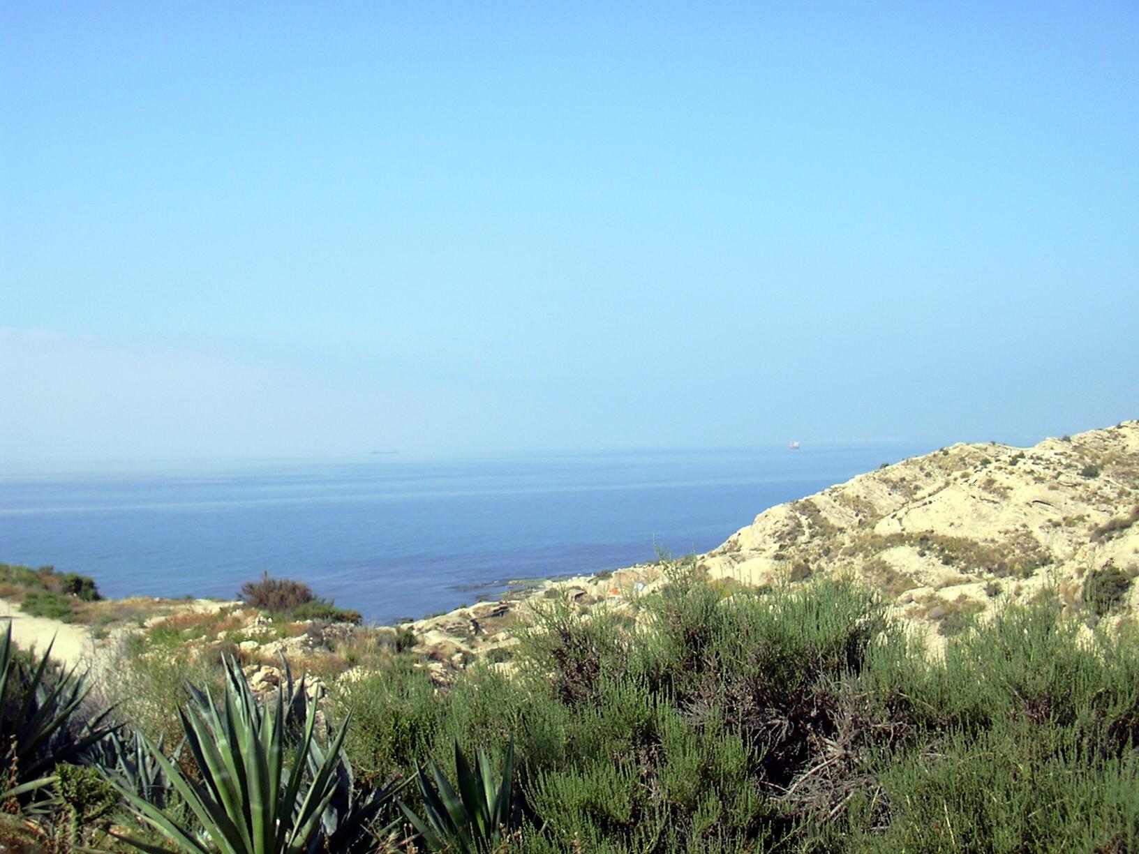 Foto playa La Almadraba. Alicante - Cap de l´horta..-