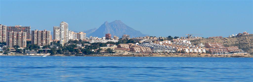 Foto playa Cala Cantalars. Vista Costa desde Mar 2 © (Foto_Seb)